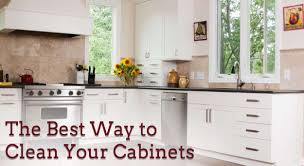 what is the best way to clean kitchen cabinets home decor color