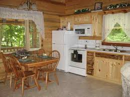 Cabin Style Curtains Log Cabin Kitchen Curtains Warm Sense Of The Log Cabin Kitchens