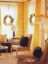 Curtains For Yellow Living Room Decor Interesting Decoration Yellow Curtains For Living Room