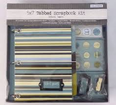 colorbok scrapbook colorbok 5 x 7 tabbed scrapbook kit album school years colorbok nib