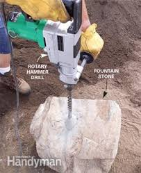 How To Drill Your Own Well In Your Backyard by How To Build A Low Maintenance Water Feature Family Handyman