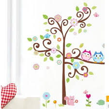 Owl Wall Sticker Compare Prices On Owl Tree Wall Decal Online Shopping Buy Low