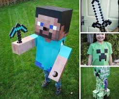 minecraft costumes diy minecraft
