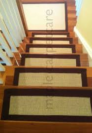 carpet treads for wooden stairs stair elegant with classic pattern