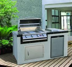 Built In Bbq Outdoor Kitchen Modular System Home Depot Modular Outdoor Kitchens