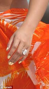 18 carat diamond ring beyonce s wedding bling an 18 carat diamond with a 2 5m price
