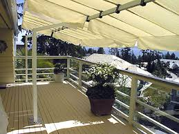 Awning Frames Freestanding Awnings Retractable Horizontal Shades
