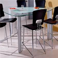 triangle pub table set bay front triangle glass pub table by holland house homeplex