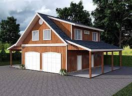 garage apartment with art studio 35443gh architectural designs