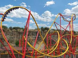 Theme Park Six Flags Six Flags Fiesta Texas Gestaltet
