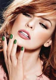 nail polish colors nail colour nail polishes warm colors green colors green makeup green nails redheads make up