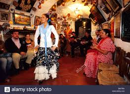 spain andalusia granada the sacromonte hill flamenco show