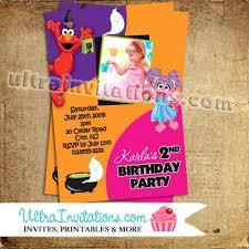 u0026 abby halloween invite
