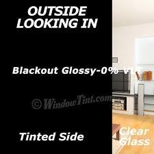 light blocking window film blackout glossy window tinting film windowtint com