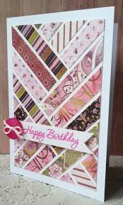 to use up scraps even children can create a special card using