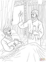king hezekiah and isaiah coloring page free printable coloring pages