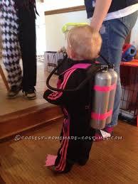 scuba diver baby costume