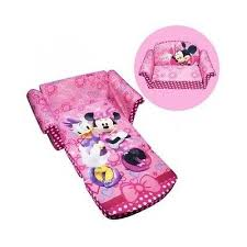 childrens sofa bed girls sofa bed flip out couch pink minnie mouse toddler chair