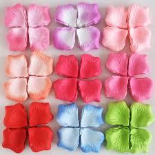 silk petals 5000 pcs artificial silk petals wedding party decorations