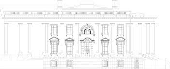 free house blue prints white house blueprint free blueprint for 3d modeling