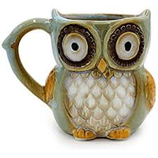 owl mug porcelain chocolate owl 12 oz coffee mug cup for our