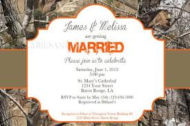 camo wedding invitations realtree camo wedding invitation bridal invitation camo