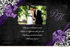words for wedding thank you cards formal wedding thank you card photo damask colors
