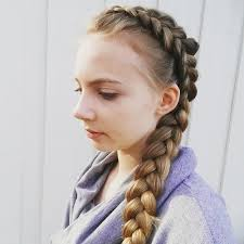 cute girl hairstyles how to french braid 20 sweet braided hairstyles for girls pretty designs
