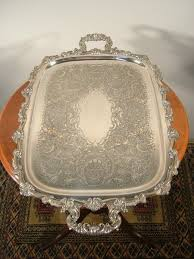 engraved silver platter 104 best silver tray images on silver plate serving