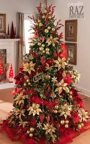 Large Scale Commercial Christmas Decorations by 17 Stunning Red And Gold Christmas Trees To Welcome Winter