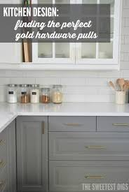 How To Add Knobs To Kitchen Cabinets The 25 Best Hardware Pulls Ideas On Pinterest Brass Hardware
