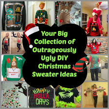 your big collection of outrageously ugly diy christmas sweater