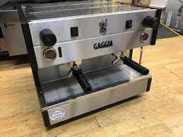 secondhand catering equipment 2 group espresso machines