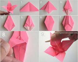 Step By Step Origami For - 40 origami flowers you can do and design