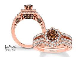 rogers jewelers engagement rings levian bridal in strawberry gold with vanilla and chocolate