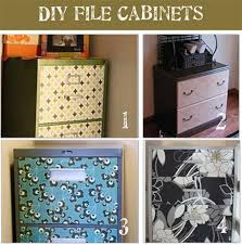 Decorative File Cabinets Painted File Cabinets For The Home Now Your Decorative File