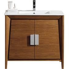 modern bathroom vanities u0026 cabinets allmodern