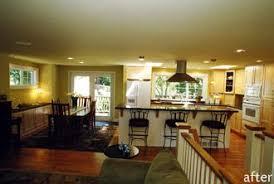 Kitchen Designs For Split Level Homes Split Level Remodel Open Floor Plan For The Home Pinterest