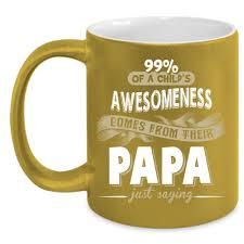 fathers day mug cool papa mug best cup gift for s day mug