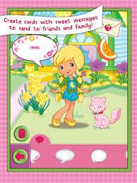 strawberry shortcake card maker dress up mobile app the best