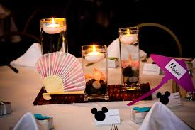 disney wedding decorations ultimate disney weddings centerpieces part one this tale