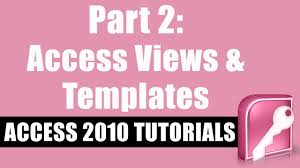 microsoft access 2010 tutorial for beginners part 2 the basics
