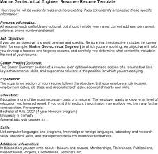 download geotechnical engineer sample resume