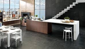 white kitchen cabinets black tile floor timeless black and white kitchen designs porcelanosa