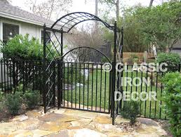 trellises and arbors classic iron decor inc