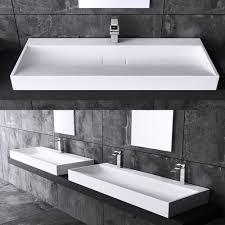 waschtische design details zu luxus design gussmarmor waschbecken stand waschtisch