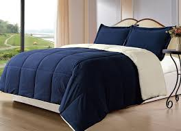 Side Tables For Bedroom by Bedroom Stripe Navy Blue Comforter With Area Rug And Round Table
