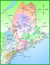 Map Of Portland Maine Map Of Maine
