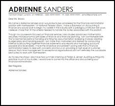 admin cover letter template administrative cover letter examples