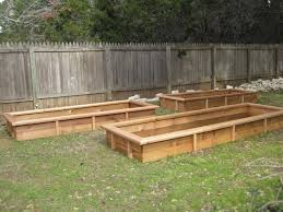 cedar garden beds the next task was filling boxes i found a handy